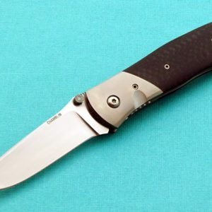 Joel Chamblin Custom Maverick Tactical Folding Knife Titanium EDC