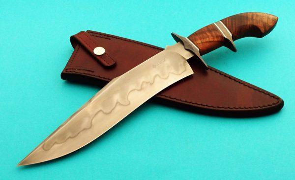 Spencer Clark XL Brute Sub-Hilt Fighter Custom Forged Knife