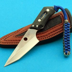 Mark Terrell Bird and Trout Custom Tactical Fixed Blade