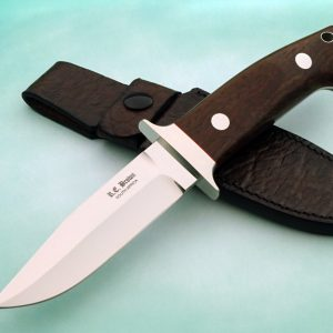Rob Brown Wilderness Fighting Knife Loveless style blade Custom Knife African handmade