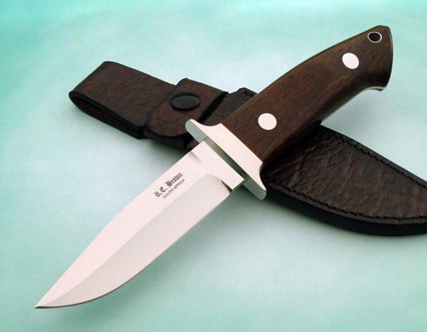 Rob Brown Wilderness Fighting Knife Loveless style blade Custom Knife African handmade