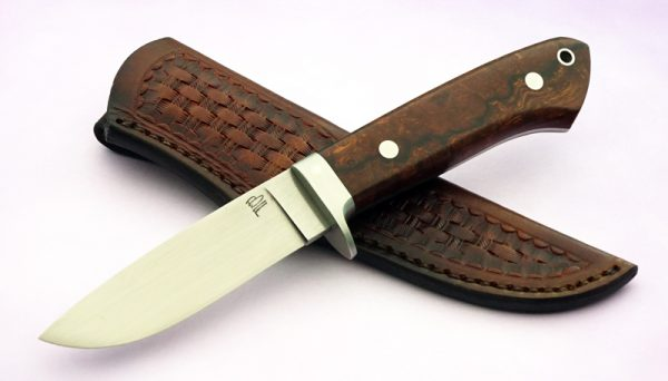 Bert Foster Forged Desert Ironwood Hunting Knife ABS Master Smith