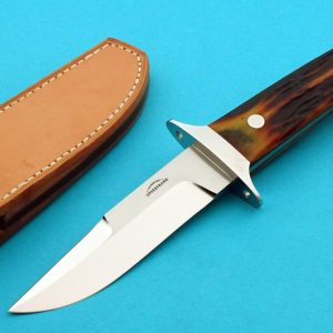 Schuyler Lovestrand Custom Stag Chute Knife Matching set with Sub-hilt