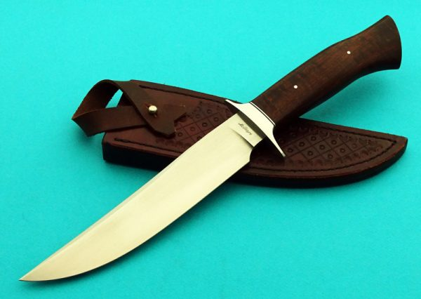 Shawn McIntyre Forged Tiger Fighting Knife Hamon ABS Master Smith
