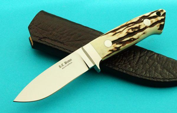 Rob Brown African Custom Knife Maker Drop Point Hunter