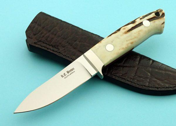 Rob Brown Semi Skinner Custom Knife maker Africa
