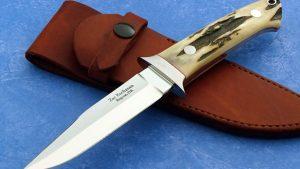 Zac Buchanan Mini Wilderness Custom Knife Stag