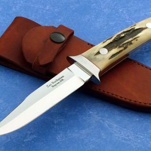 Zac Buchanan Mini Wilderness Custom Knife Stag