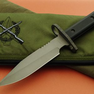 Duane Dwyer Tactical Fixed Blade Custom Knife Double Edge Bayonet