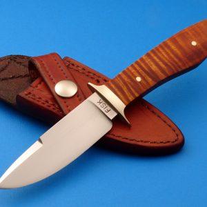 Jerry Fisk Sendero Boot Knife Custom made ABS Master Smith