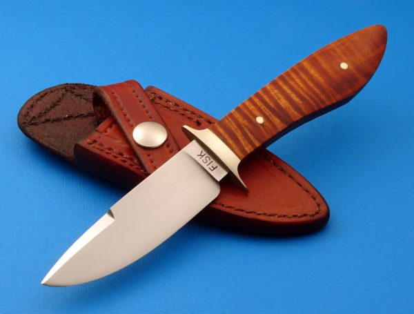 Jerry Fisk Sendero Boot Knife Custom made ABS Master Smith