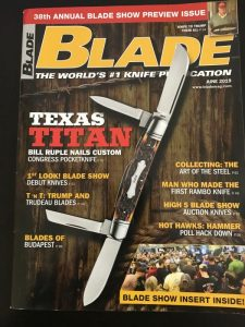 Blade Magazine Collecting Art of Steel
