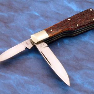 Tony Bose Gun Stock Custom Slip Joint Folding Knife