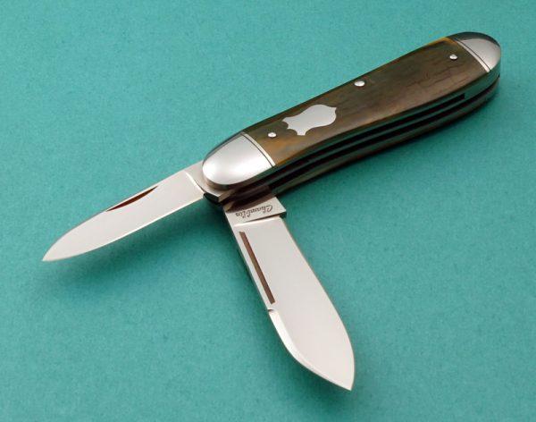Joel Chamblin Dog Les Slip Joint Custom Folding Knife