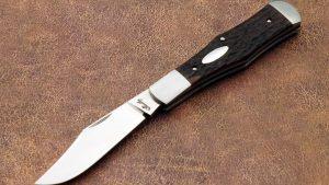 Eugene Shadley Coke Bottle Slip Joint Custom Folding Knife