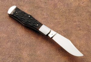 Eugene Shadley Coke Bottle Slip Joint Custom Folding Knife