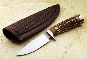 Milan Mozolic Hunter Custom Knife
