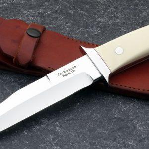 Zac Buchanan Wilderness Fighter Custom Knife Ivory