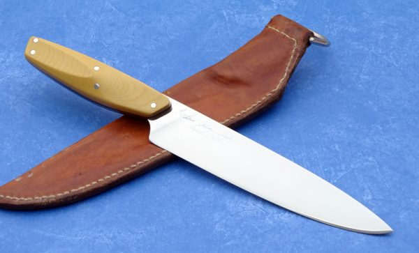 Rod Chappel French KnifeDavis Knives History Collectible Custom Knife