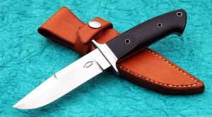 Dietmar Kressler Integral Tactical Boot Fighter Custom Knife Stainless Steel