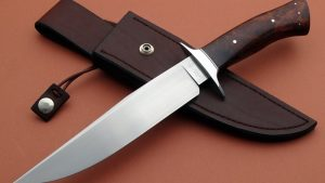 Shawn McIntyre Forged Outback Fighting Knife ABS Master Smith