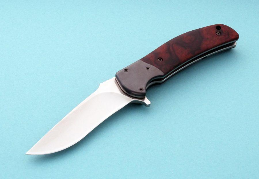 RJ Martin Q-36 Presentation Folding Knife Custom Tactical