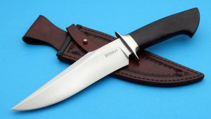 Scott McGhee Forged Cottonmouth Fighting Knife Custom ABS Mastersmith