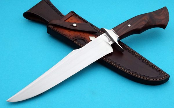 Ben Seward Forged Custom Fighting Knife ABS Journeyman Smith Cocobolo