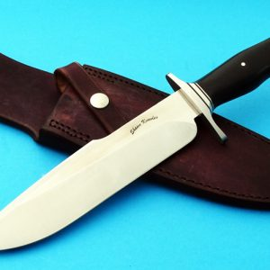 Shawn Knowles Harpoon Tactical Custom Fighter Knife double edge