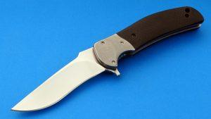RJ Martin Signature Q36 Titanium Tactical Folding Knife Custom Folder High Demand