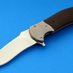 RJ Martin Signature Q36 Titanium Tactical Folding Knife Custom Folder High Demand