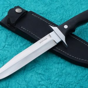 Tim Steingass Silent Fighter Tactical Fixed Blade Custom Knife