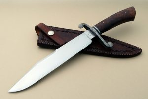 JR Cook Forged Vest Bowie Custom Knife Traditional Award Winning ABS Master Smith