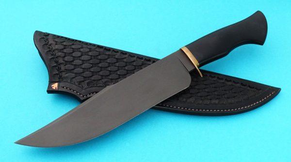 Jim Rodebaugh Forged Alaska Camp Knife Black Custom Knife