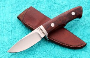 Warren Goltz Custom Drop Point Hunting Knife Great Value