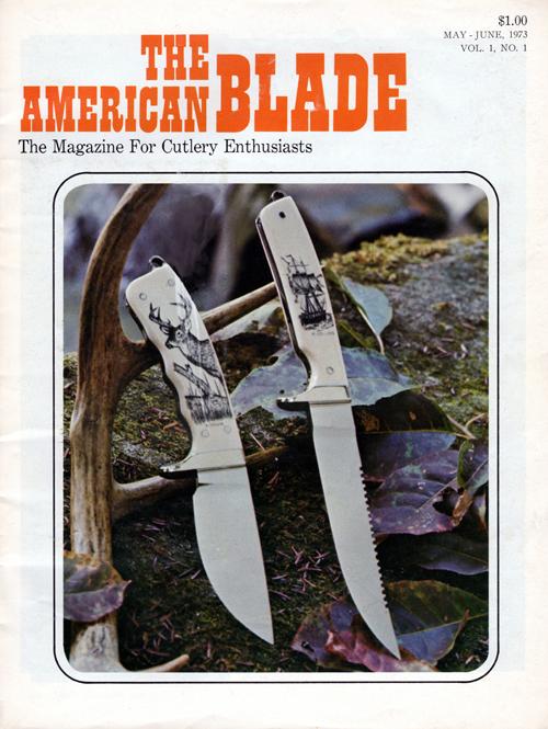 Rod Chappel Blade Magazine 1st Edition 1973 American Blade History