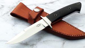 Dietmar Kressler integral Custom Chute Fighter Tactical Fixed Blade Presentation Loveless style