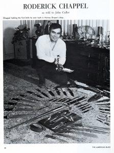Rod Chappel 1st Custom Knife Harvey Draper History