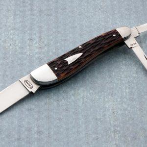 Dan Burke 3 Blade Splitback Whittler Slip Joint Folding Knife Serial #2 Custom folder