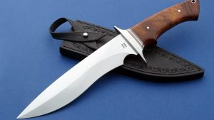 Phillip Patton Presentation Panther Fighter Fixed Blade Custom Knife