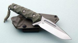 Piotr Gosciniak Custom Cayman Tactical OD Fighter Fixed Blade Poland