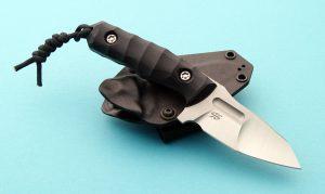 Piotr Gosciniak Black Defender Custom Boot Knife Fixed Blade Poland