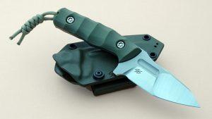 Piotr Gosciniak Custom Defender OD Boot Knife Tactical Fixed Blade