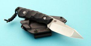 Piotr Gosciniak Rebel Custom Tactical Fighter Black Fixed Blade Poland